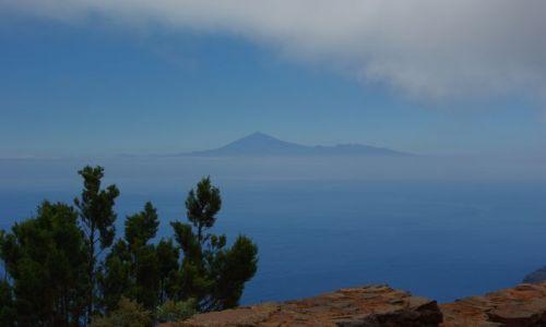 Zdjęcie HISZPANIA / Wyspy Kanaryjskie, La Gomera / La Gomera / Widok na Teide