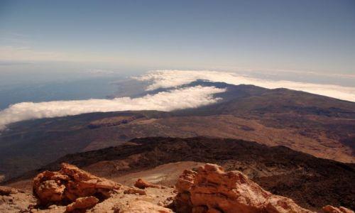Zdjecie HISZPANIA / Wyspy Kanaryjskie, Teneryfa / Parque Nacional Teide / Widok z Teide