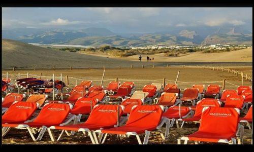 Zdjecie HISZPANIA / Gran Canaria / Maspalomas / Opustoszła plaża