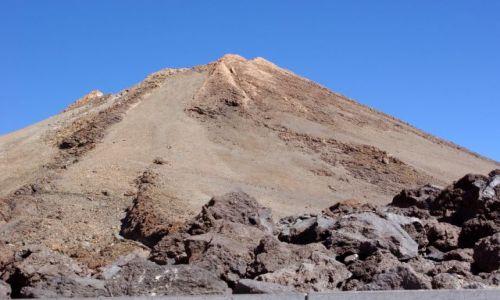 Zdjecie HISZPANIA / Wyspy Kanaryjskie, Teneryfa / Parque Nacional del Teide / Teide z bliska