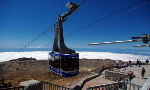Zdjecie HISZPANIA / Wyspy Kanaryjskie, Teneryfa / Parque Nacional del Teide / Teleferico