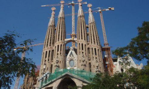 Zdjecie HISZPANIA / - / Barcelona / Sagrada Familia