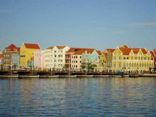 Zdjęcia: Willemstad, Antyle Holenderskie / Curacao, Panorama Pundy, HOLANDIA