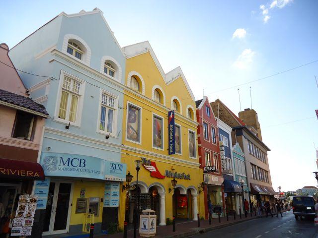 Zdjęcia: Willemstad, Antyle Holenderskie / Curacao, Trochę architektury kolonialnej (2), HOLANDIA