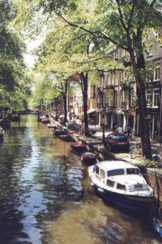 Zdjęcia: Amsterdam, Amsterdam, Kanały w Amsterdamie, HOLANDIA