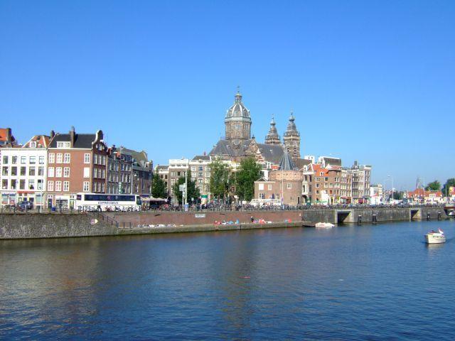 Zdjęcia: Amsterdam, centrum Amsterdamu, HOLANDIA