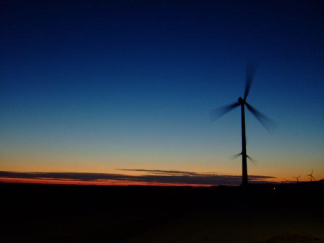 Zdjęcia: Zeewolde, Flevoland, zachód słońca, HOLANDIA