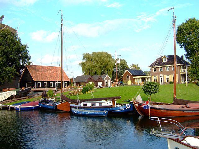 Zdj�cia: Harderwijk , Flevoland, nad kana�em 2, HOLANDIA