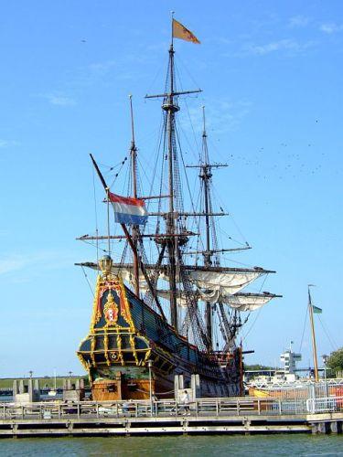 Zdjęcia: lelystad, Holandia, statek, HOLANDIA
