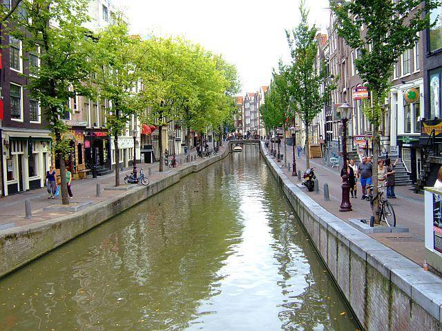 Zdjęcia: Amsterdam, Holandia, nad kanałem 3, HOLANDIA