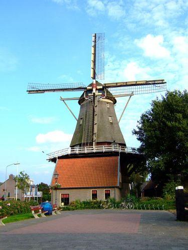Zdjęcia: Hardejwik, Flevoland, wiatrak, HOLANDIA