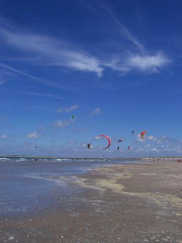 Zdjęcia: Renesse, Zelandia, Raj dla kitesurferów, HOLANDIA