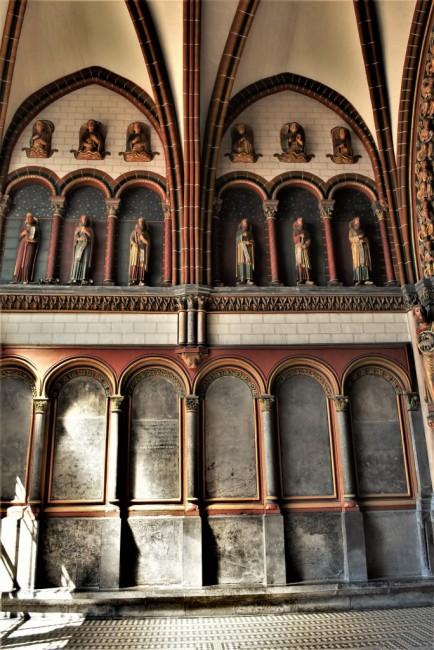 Zdjęcia: Maastricht, Limburgia, Maastricht, Bazylika św. Serwacego koniec, HOLANDIA