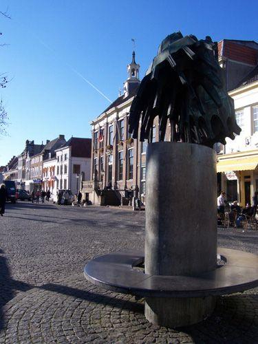Zdjęcia: Zaltbommel, Geldria, Rynek Zaltbommel, HOLANDIA
