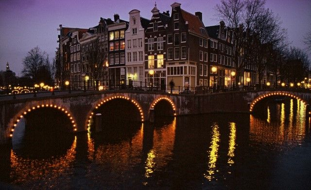 Zdjęcia: Amsterdam, Randstad, Kanał Cesarski, HOLANDIA