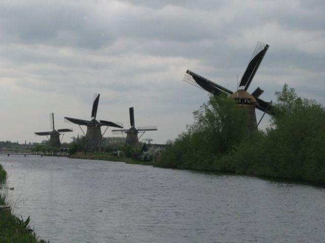 Zdjęcia: Kinderdijk, windmills, HOLANDIA