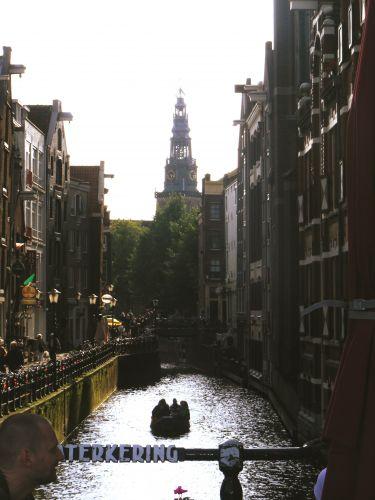 Zdjęcia: Amsterdam, Amsterdam, zaułek, HOLANDIA