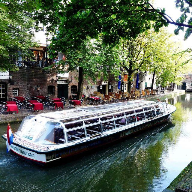 Zdjęcia: Utrecht, Utrecht, Podróż po kanałach Utrechtu, HOLANDIA