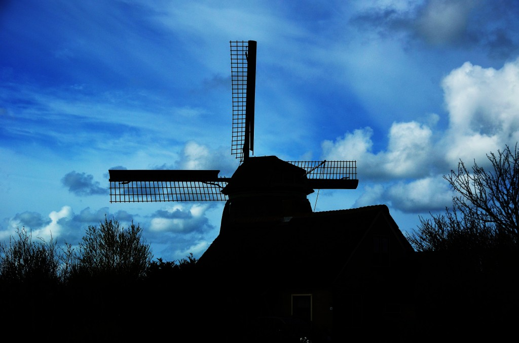 Zdjęcia: Callantsoog, Północna Holandia, Wiatrak, HOLANDIA