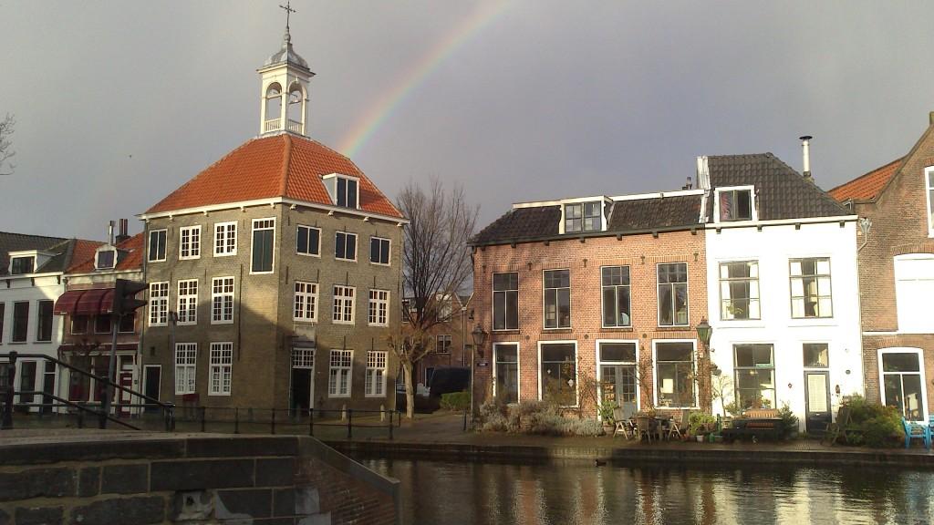 Zdjęcia: Schiedam, Zuid Holland, dom cechu nosicieli worków, HOLANDIA