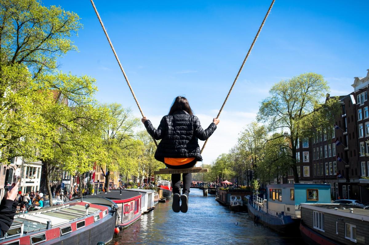 Zdjęcia: Amsterdam, Amsterdam, Wznieść się na chwilę, HOLANDIA