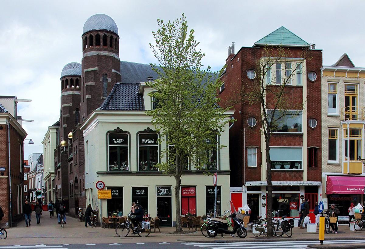 Zdjęcia: Stare Miasto, Groningen, Synagoga, HOLANDIA