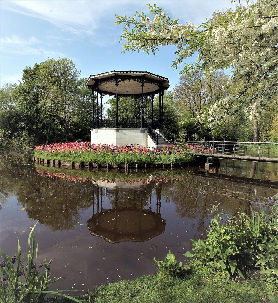 Zdjęcia: Vondelpark, Amsterdam, Altana, HOLANDIA