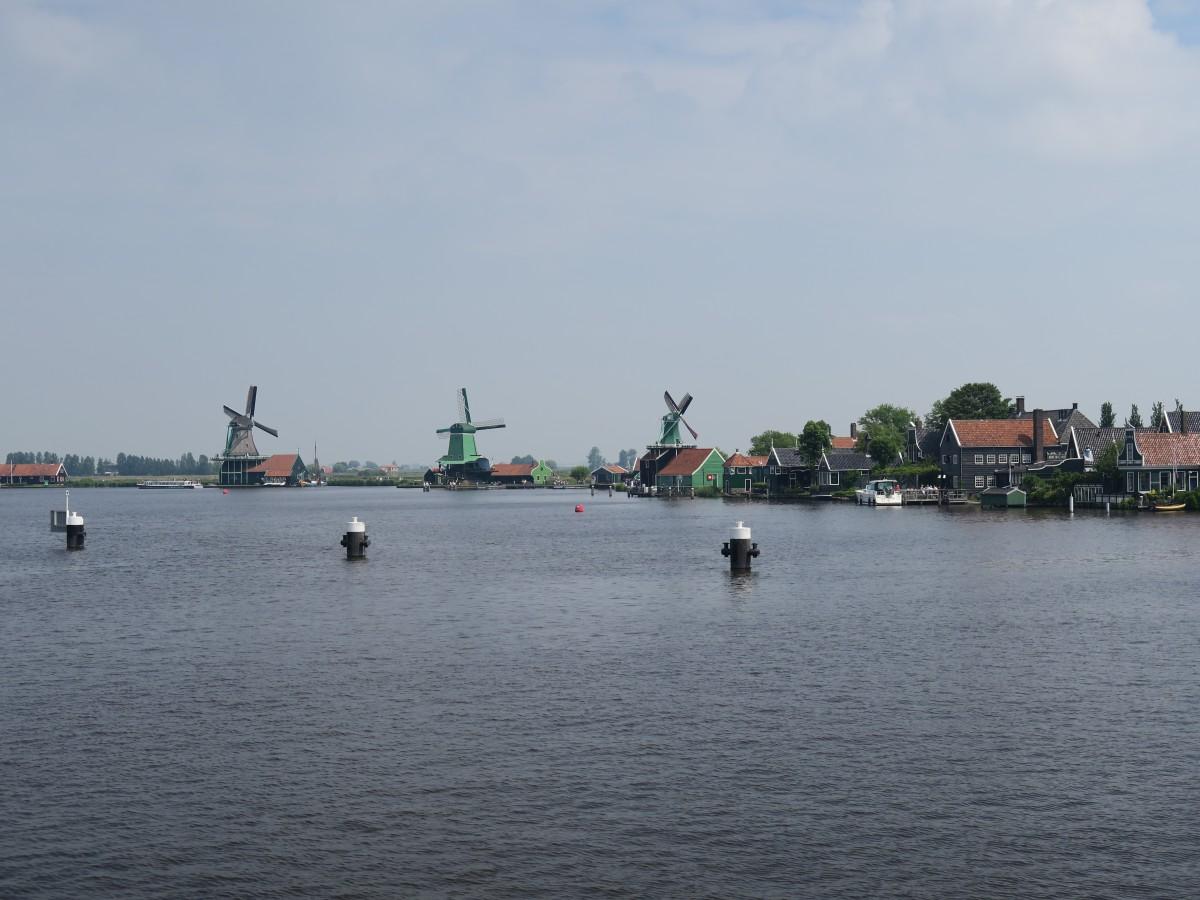 Zdjęcia: Zaanse Schans, Zaanse Schans, Wiatraki, HOLANDIA