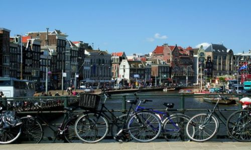 Zdjęcie HOLANDIA / Amsterdam / Amsterdam / Rowery