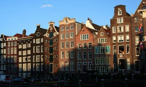 HOLANDIA / Amsterdam / Amsterdam / Kamienice