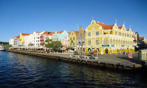 HOLANDIA / Antyle Holenderskie / Curacao / Willemstad / Punda