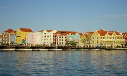 Zdjecie HOLANDIA / Antyle Holenderskie / Curacao / Willemstad / Panorama Pundy