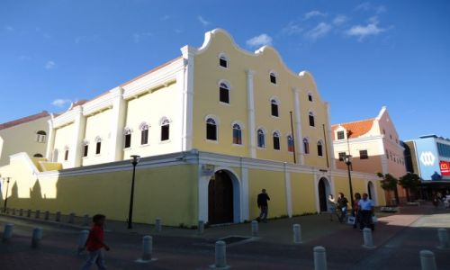 Zdjęcie HOLANDIA / Antyle Holenderskie / Curacao / Willemstad / Synagoga