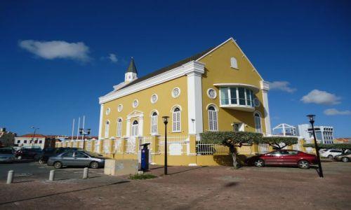 HOLANDIA / Antyle Holenderskie / Curacao / Willemstad / Dawna świątynia