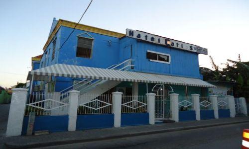 HOLANDIA / Antyle Holenderskie / Curacao / Willemstad / Najtańszy hotel na wyspie
