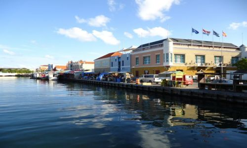 HOLANDIA / Antyle Holenderskie / Curacao / Willemstad / Punda - centrum