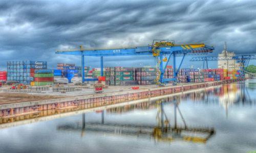 Zdjecie HOLANDIA / Overijssel / Hengelo / Port kontenerowy