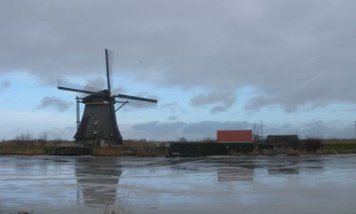 HOLANDIA / kraj z wiatrakami / skansen / wiatraki