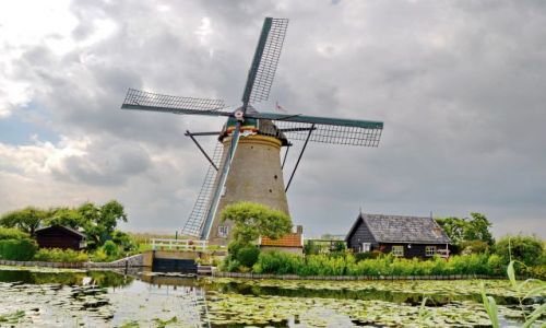 HOLANDIA / zuid holland / Kinderdijk / Kinderdijk