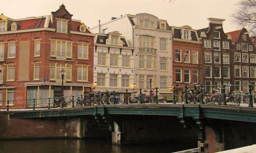 Zdjecie HOLANDIA / Holandia północna / Amsterdam / miasto moich ma