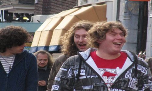 HOLANDIA / Holandia północna / Amsterdam-Rokin / konkurs-amsterdamske radości