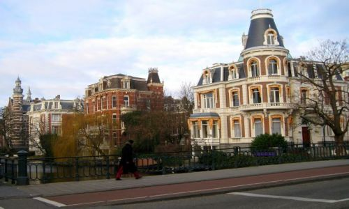 HOLANDIA / Holandia północna / okolice Rijksmuseum / amsterdamskie klimaty