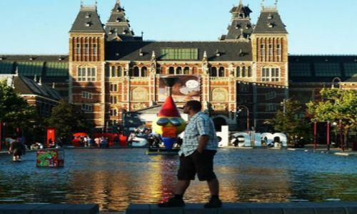 HOLANDIA / Noord-Holland / Amsterdam / Do Amsterdamu na Matki Boskiej Zielnej