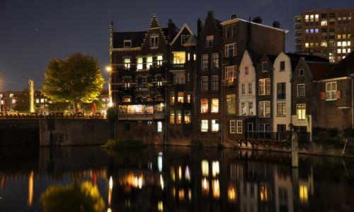 HOLANDIA / Zuid Holland / Rotterdam / Delfshaven noca.