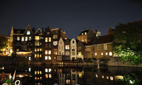 Zdjecie HOLANDIA / Zuid Holland / Rotterdam / Delfshaven noca II