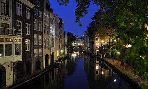 Zdjęcie HOLANDIA / Utrecht / Utrecht / Utrecht wieczorową porą II