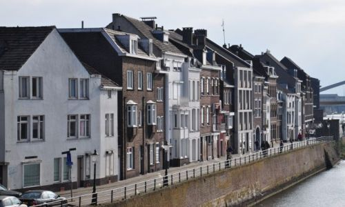 Zdjęcie HOLANDIA / Limburgia / Maastricht / Maastricht nad Mozą