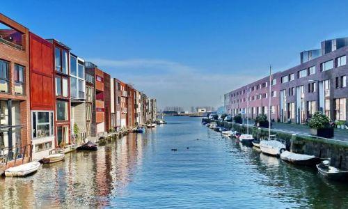 Zdjęcie HOLANDIA / Zuid Holland / Amsterdam / Nowe osiedla Amsterdamu