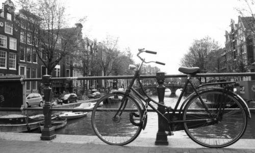 Zdjecie HOLANDIA / Amsterdam / Amsterdam / Rower