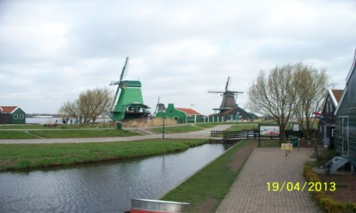 HOLANDIA / - / Zaanse Schans / Holandia w pigułce. Trzydniowy wyjazd na Święto Kwiatów.